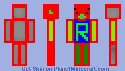 the r man Minecraft Skin