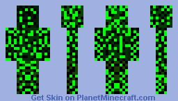 leaf guy Minecraft Skin
