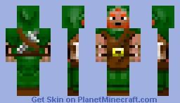 dwarven rogue Minecraft Skin