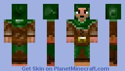 Rangers apprentice Minecraft Skin