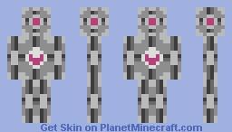 The Companion Cube. Minecraft Skin