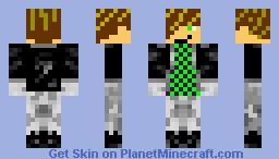 emo dude Minecraft Skin