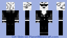 Sheep with suit and shades Minecraft Skin