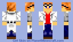 Scientist Skin Minecraft Skin