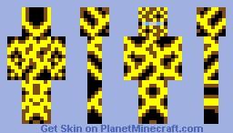 Lightning Poisoned Survivor Minecraft Skin