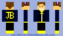 Justin Bieber (Believe Photoshoot Adition) Minecraft Skin