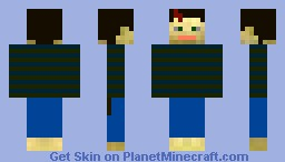 My skin contest submission: Harry Potter Minecraft Skin