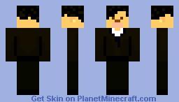 Sherlock Minecraft skin Minecraft Skin