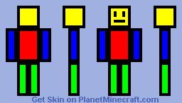 Multi Man Minecraft Skin
