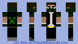 Creeper Hunter FIX Minecraft Skin