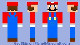 Super Mario 2! Minecraft Skin