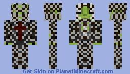 gassymexican warrior Minecraft Skin