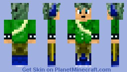 Green Kid Minecraft Skin