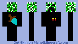 spy creeper Minecraft Skin