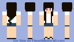Courtney (with Tee Shirt) Minecraft Skin