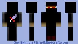 Demon Ninja Minecraft Skin