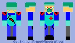 Za Doctor! Minecraft Skin