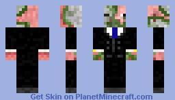 Pigman zombie Minecraft Skin