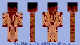 Blown off Minecraft Skin
