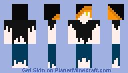 Halloween Skin 10# Scarecrow Boy Minecraft Skin