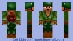 Solider Minecraft Skin