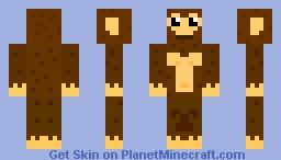 Cheeky Monkey Minecraft Skin