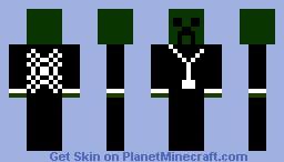 CreeperCraft Minecraft Skin