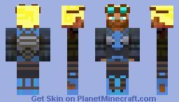 Techno Pilot Minecraft Skin