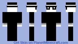 spy vs. spy (black spy) Minecraft Skin
