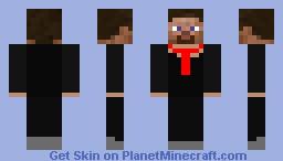 Businessman with tie Minecraft Skin