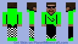 Pimp Jimmy Minecraft Skin