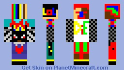 SuperMCManwithspider Minecraft Skin