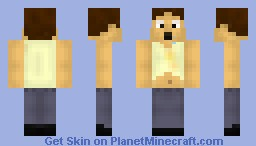 Lazy Man Minecraft Skin