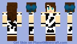 ~Skye~ Cow Suit! Minecraft Skin