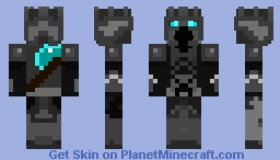 A failed Lich king t.e.x Axe and not a Sword Minecraft Skin