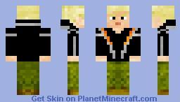 The Hunger Games Peeta Malark Minecraft Skin