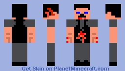 mc zombie skins(1)-infected business guy