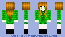 ☣My version of A creeper Girl☢ Minecraft Skin