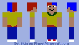 Neonus God of Colors Minecraft Skin