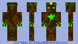 |Contest| Karmos-God Of The Nature Minecraft Skin