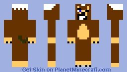 smile dog Minecraft Skin