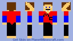 Vampire Of Death AKA VOD Minecraft Skin