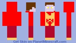 Fire attract Minecraft Skin
