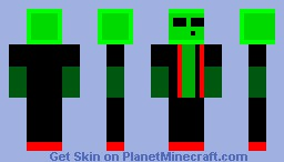 Sexy slime guy c: Minecraft
