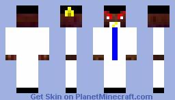 angry man Minecraft Skin