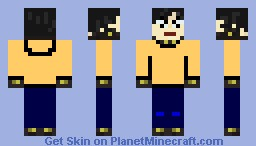 Joichiro Nishi (Gantz) Minecraft Skin