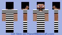 Prisoner Skin Minecraft Skin