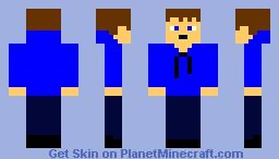 Hoodie Teen Minecraft Skin