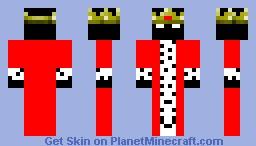 Enderman king Minecraft Skin