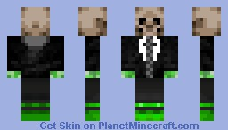 creeper cool guy Minecraft Skin